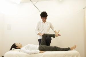 下肢のアライメント調整